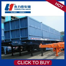 American semi-trailer trailer manufacturer ctac best selling heavy lowbed semi trailer
