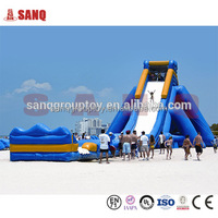 Factory Directly Commercial Inflatable Roaring River Water Slide Used PVC Slip Slide For Adults And Kids