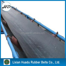 moulded edge EP/Nylon/cotton Canvans conveyor belt for sandy or lump materials