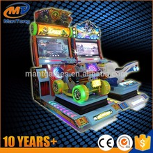2 players 4 wheels arcade racing game machine racing car video games machine for kids