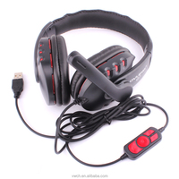 New Big Gaming Headset Headband Headphone With Microphone for Laptop Mobile Phones PS4