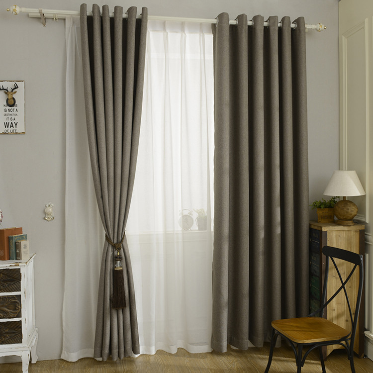 Factory Direct Sale Home and Hotel Project Window Blackout Curtain