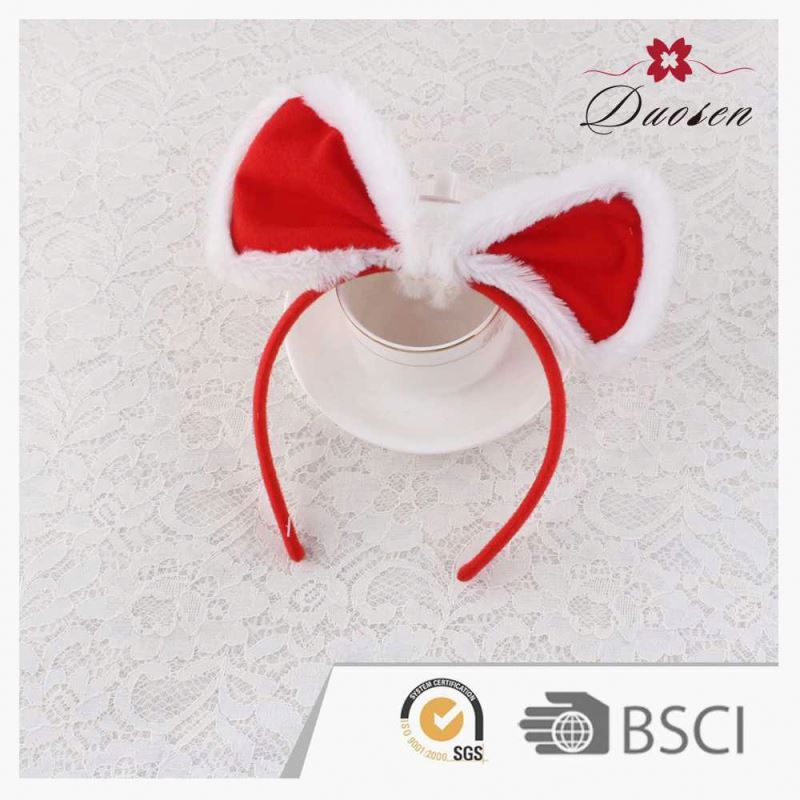 Best Sell Christmas Children Hair Bows Headband & Hair band For Women Decoration