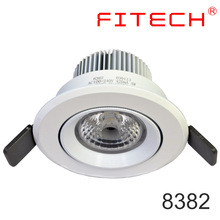 4W 7W 5W led cob downlight 17w with anti-glare lens canister lighting