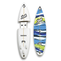 Flash Drive USB Memory Stick Pen New Surfboard Plastic Gift Waves Surfie USB Flash drive