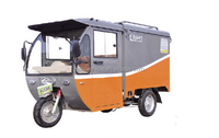 3 three wheel closed cabin cargo electric tricycle for carrying goods