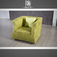 Modern Sitting Room Saving Space Light Weight Wing Chair Sofa