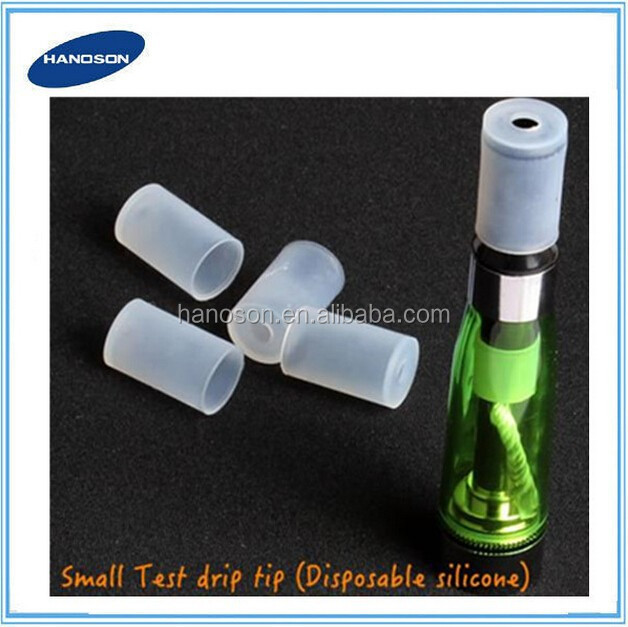 Disposable mouthpiece silicone drip tips 510/eGo tester mouthpiece wholesale price