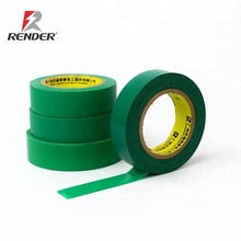 China PVC Insulation Non Double-sided Tape Green Blue Electric Rubber Pressure-sensitive Adhesive Electrical Tape