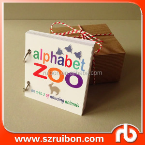Baby ABC Learning Animal Illustration Baby Alphabet Book