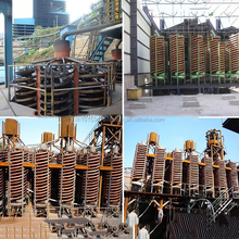 Best price Tin ore spiral separator machine / gravity spiral chute/sand spiral classifier
