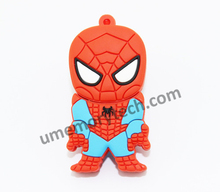 promotional products Spider man shaped usb flash drive , wholesale usb pendrive , usb stick oem