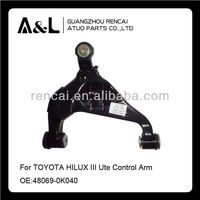 Auto parts Suspension Auto Control Arm For TOYOTA HILUX III Ute Front Axle,Left,Lower Control Arm OE: 48069-0K040