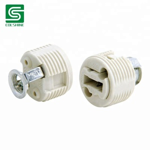 Threaded G9 Halogen Socket G9 lamp base G9 ceramic bulb holder