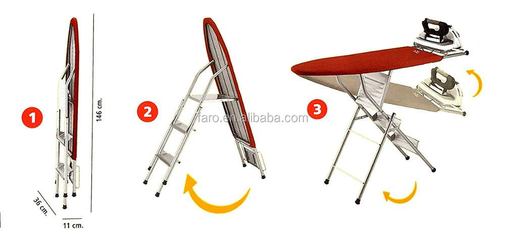 IB-6DN Ironing board with ladder hot sell in Mexico