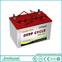 Lead Acid Tubular Battery,Flooded OPzS Rechargeable Battery