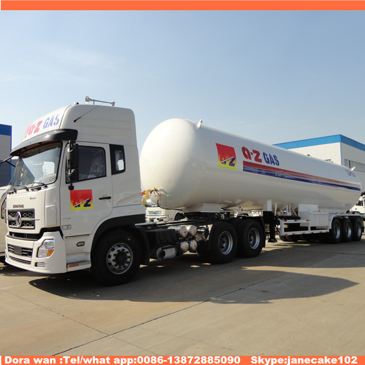 ASME standard china lpg delivery tank poultry transport truck trailer