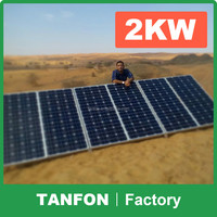 2KW 5kw photovoltaic cells price solar panel/solar energy power system 5kw 6KW /solar communication power system5kw 6KW 10kw