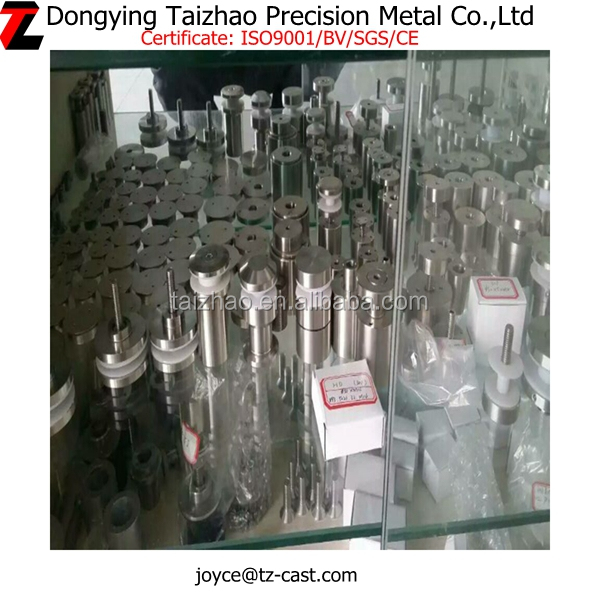 Promotion price stainless steel glass wall standoffs, standoff glass holder