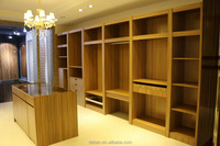 simple design pvc wardrobe walkin closet