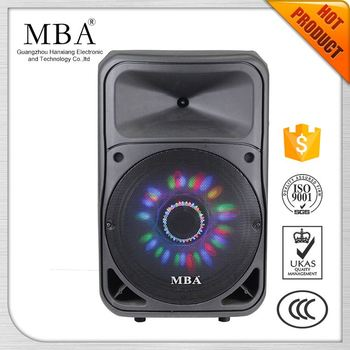 Led color changing bluetooth led lamp multimedia speaker with mic