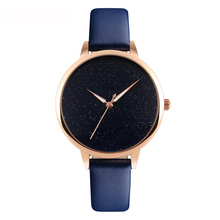 Gift Items For 2018 SKMEI 9141 OEM Leather Watch Woman Quartz Wristwatch