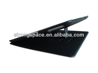 Leather belk case for ipad 4 tablet with sleeping switch and stand from China
