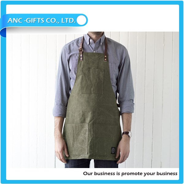 Promotional leather welding apron With Logo/leather welding apron /Customized carpenter apron