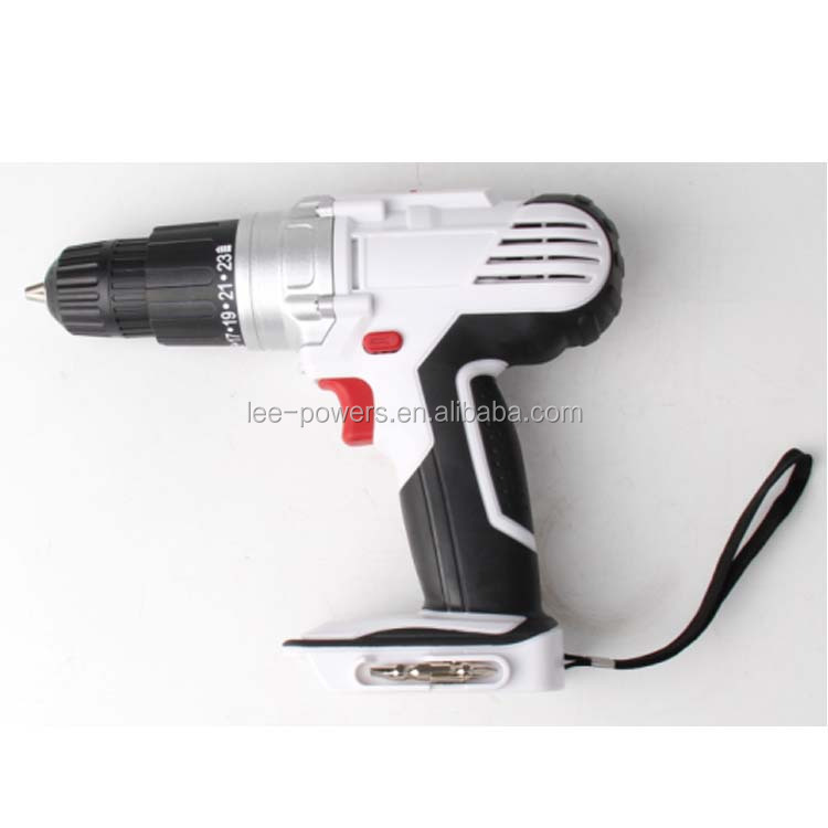 With soft grip makes user hold more comfortable electric drill 18v
