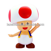 "Super Mario Super Size Figure Collection TOAD 7"" Large Toy Doll Loose Figure"