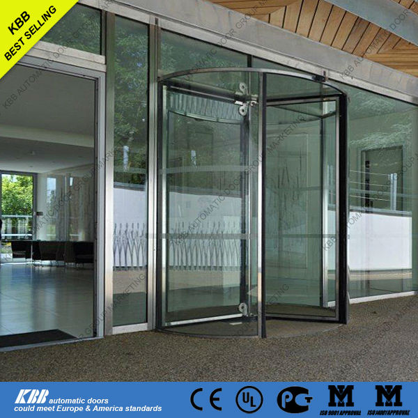 Glass revolving door from china suppliers with low price