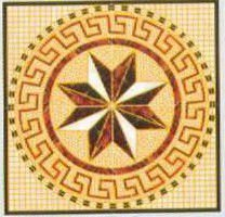 new design decorative floor vitrified tile