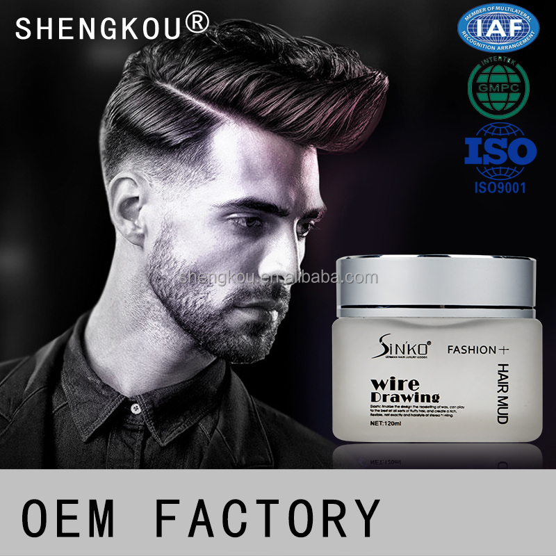 120ML Best Sell Premium Matte Modeling Hair Wax Clay for men