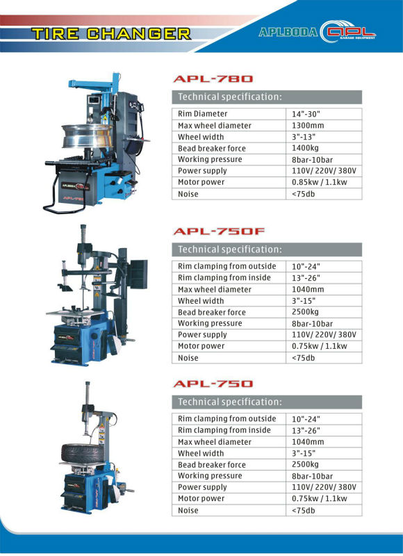 Cheap Wholesale tyre changer with ce