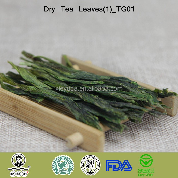 TG01 Organic High Mountain Green Tea Taiping Houkui Green Tea