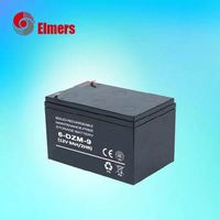 Manufacture price cheap 6dzm9 scotter battery