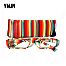 Promotion China YNJN colorful custom logo brand your own reading glasses