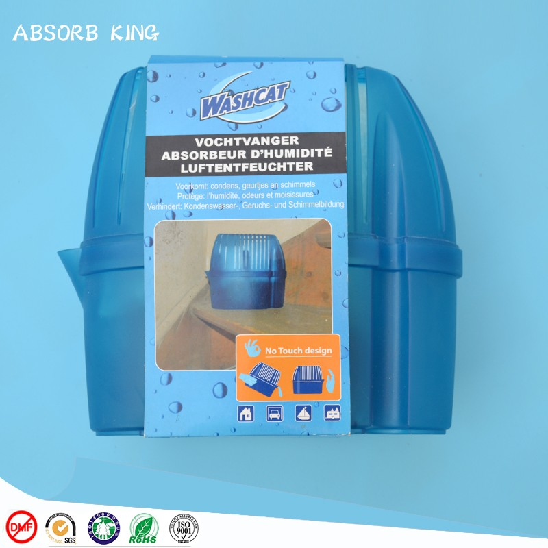 Moisture absorber dehumidifier box