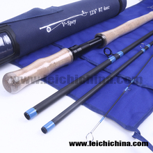 Wholesale stock available carbon 7wt spey fly fishing rod