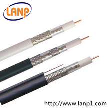High Quality RG6 Coaxial cable CCTV Camera cable equirments 1 conductor copper cable
