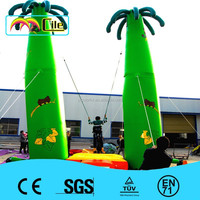 CILE 2015 Hot Sale Jungle Tree Inflatable Trampoline Bounding Table for Kids and Adults