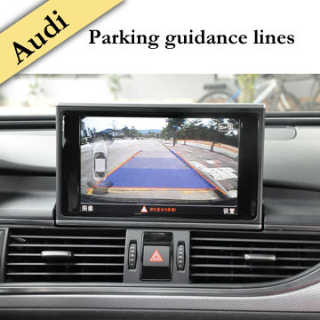 wifi display car audio distributor buit in parking guidance line