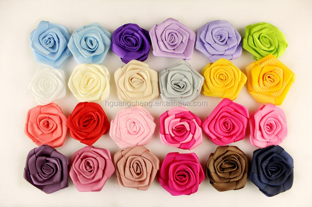 beaded center lace flower handmade hair accessories for baby headbands