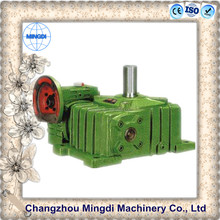 WPO Cast Iron small Worm Transmission Gearbox Parts with diesel enginesfor kato crane spare parts