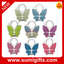 Foldable Metal Bag Hanger,bag holder & Colourful Butterfly Hanger Bag Hook