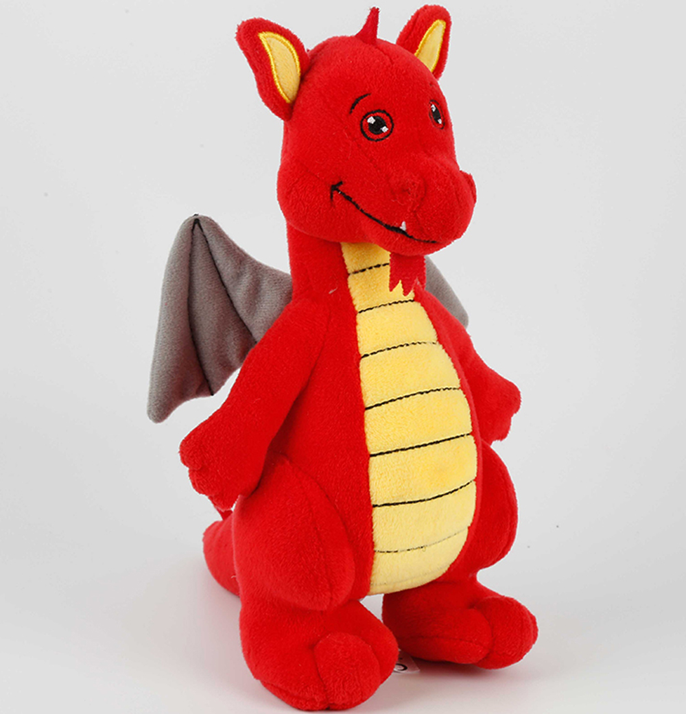 Custom plush toy dinosaur stuffed animals red dinosaur plush