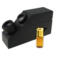 Gem Refractometer <strong>w</strong>/ Built-in LED Light + RI Oil Gemstone Identifier Tester Jewelry Tool