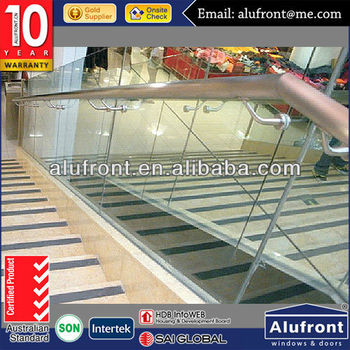 Stainless Steel Glass Handrail for stairs
