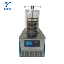 Pharmaceutical Vials Lyophilizer Bench Top-pressed Vacuum Mini Freeze Dryer Lyophilizer for Vial Bulk material freeze dryer