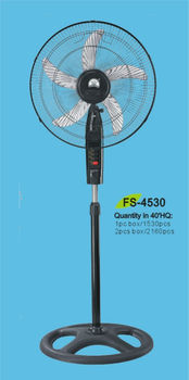 18 inch electric standing fan with ox blades